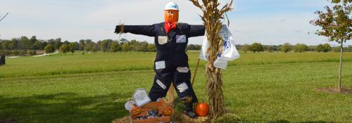 Partners in Hope 2018 scarecrow